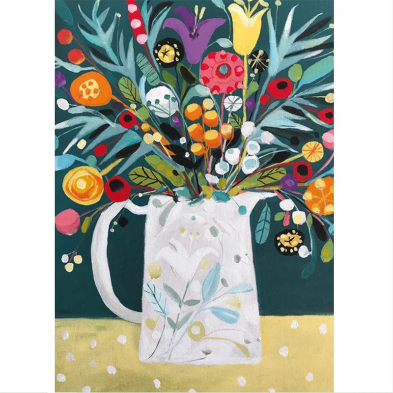 Picture of Gift Of Flowers by Natalie Rymer - blank inside card