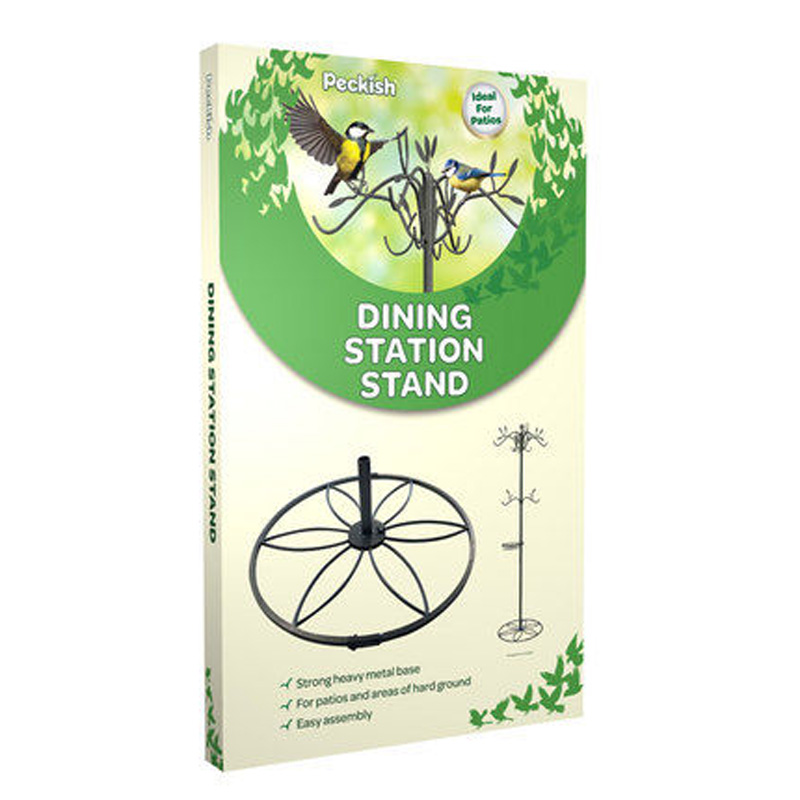 Picture of Peckish Bird Dining Station Patio Stand