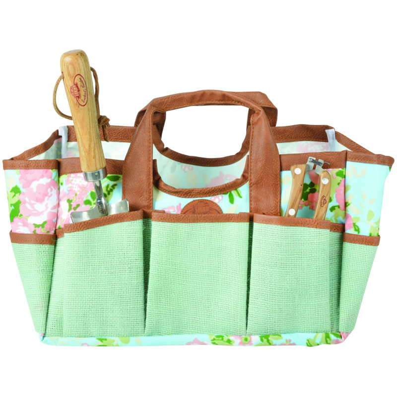 Picture of Fallen Fruits Rose Print Garden Tool Bag