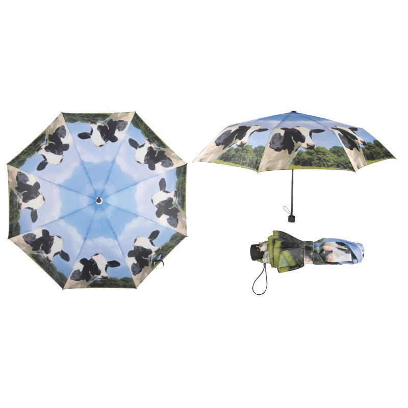 Picture of Fallen Fruits Cow Print Umbrella