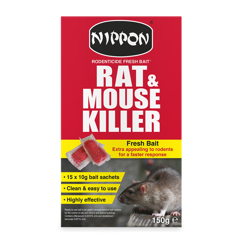 Picture of Vitax Nippon Rodenticide Fresh Bait Rat & Mouse Killer