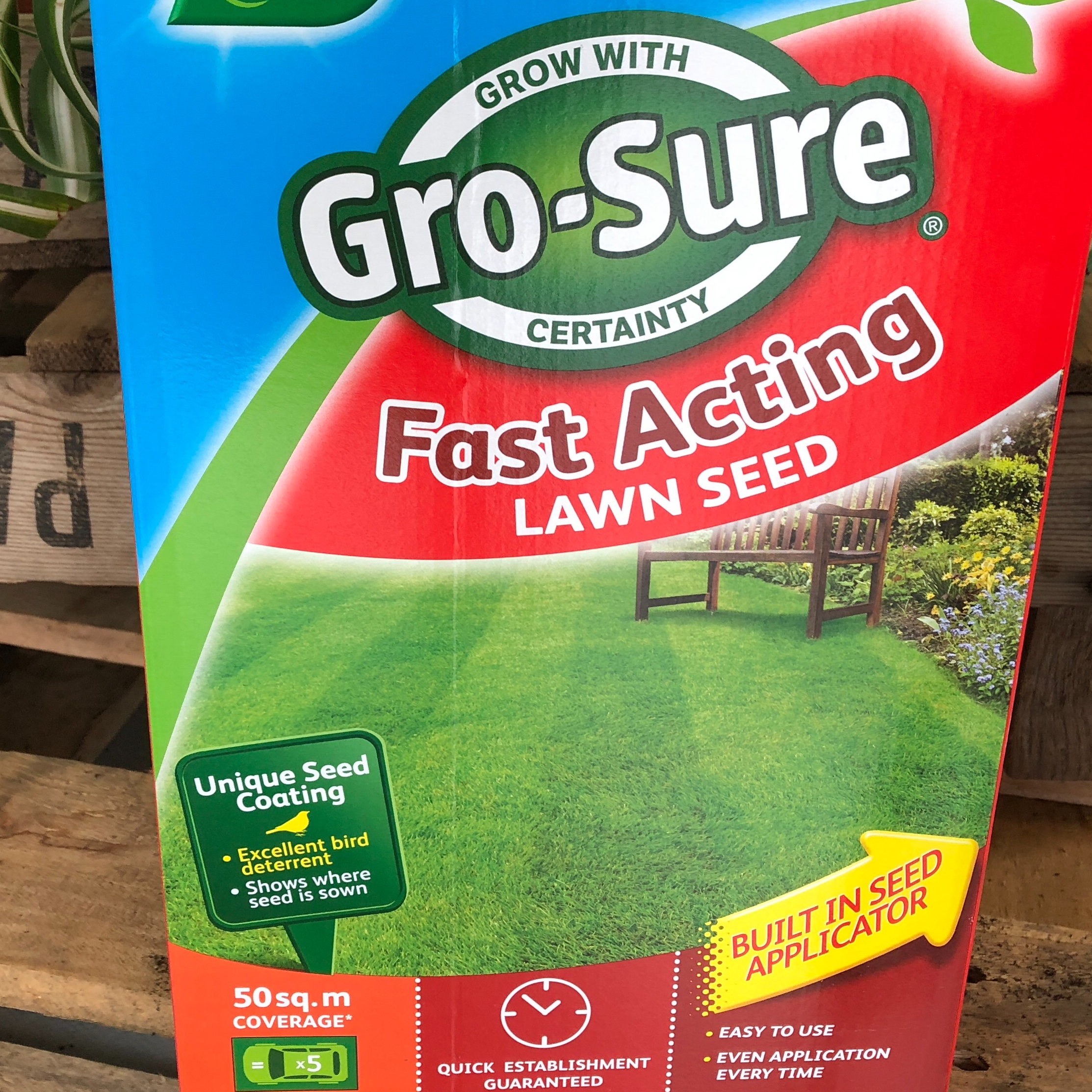 Picture of Westland Gro-Sure® Fast Acting Lawn Seed