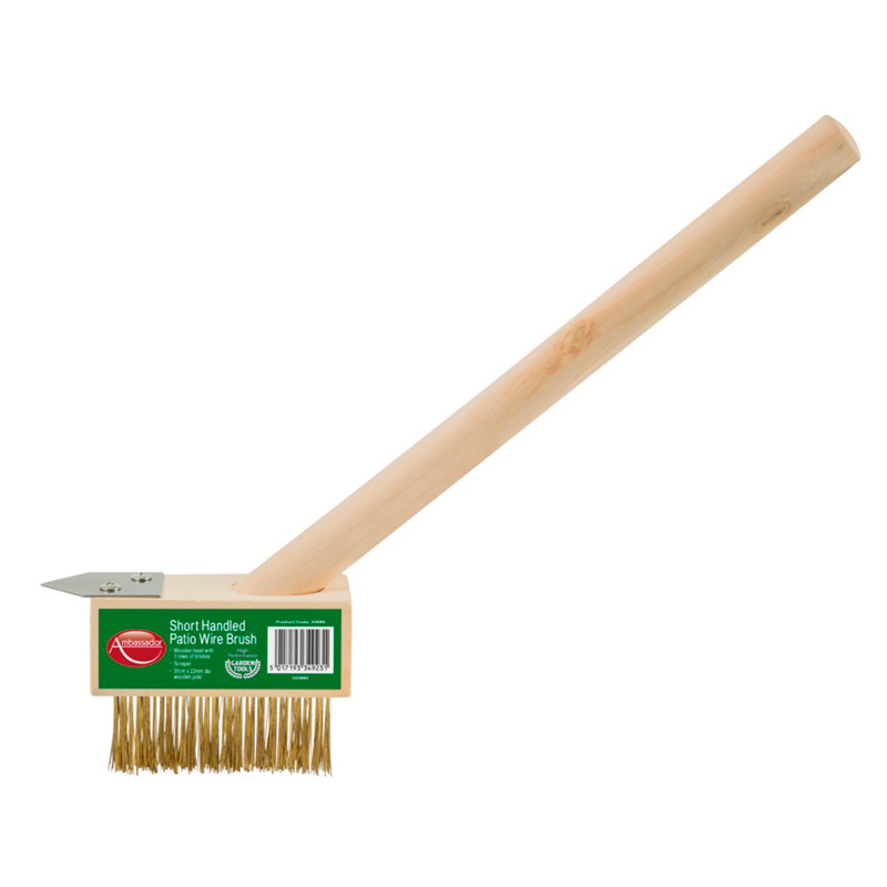 Picture of Short Handled Patio Wire Brush