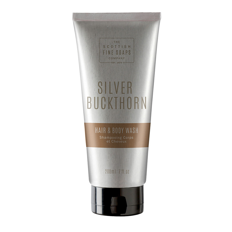 Picture of Scottish Fine Soaps Silver Buckthorn Hair & Body Wash