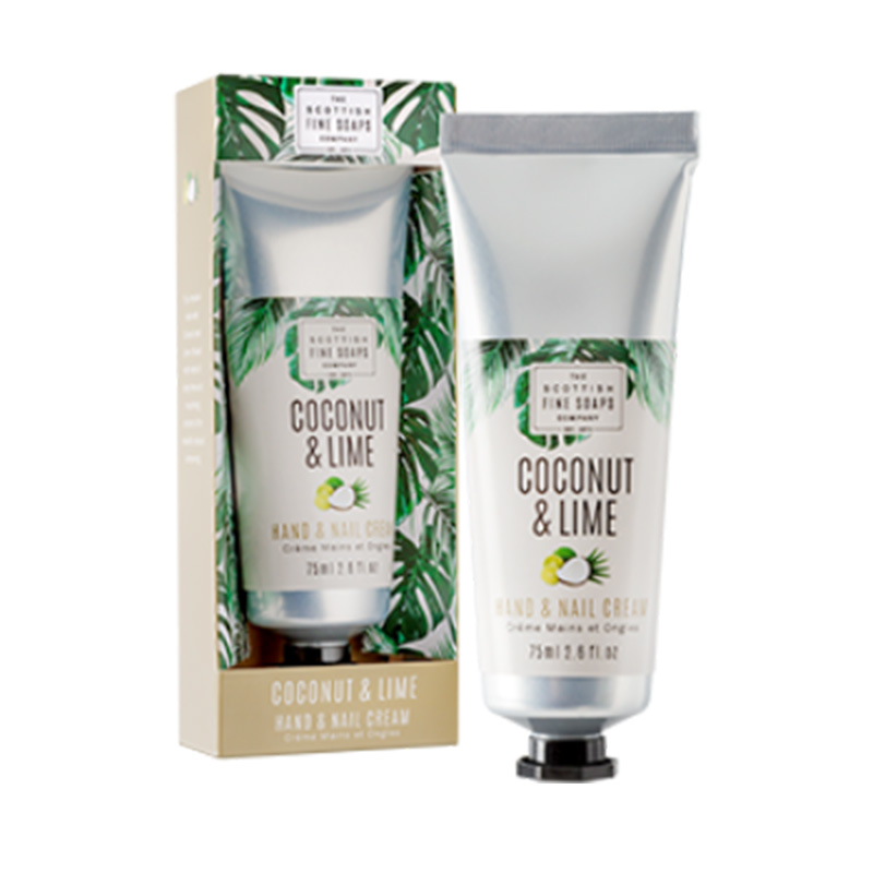 Picture of Scottish Fine Soaps Coconut & Lime Hand & Nail Cream