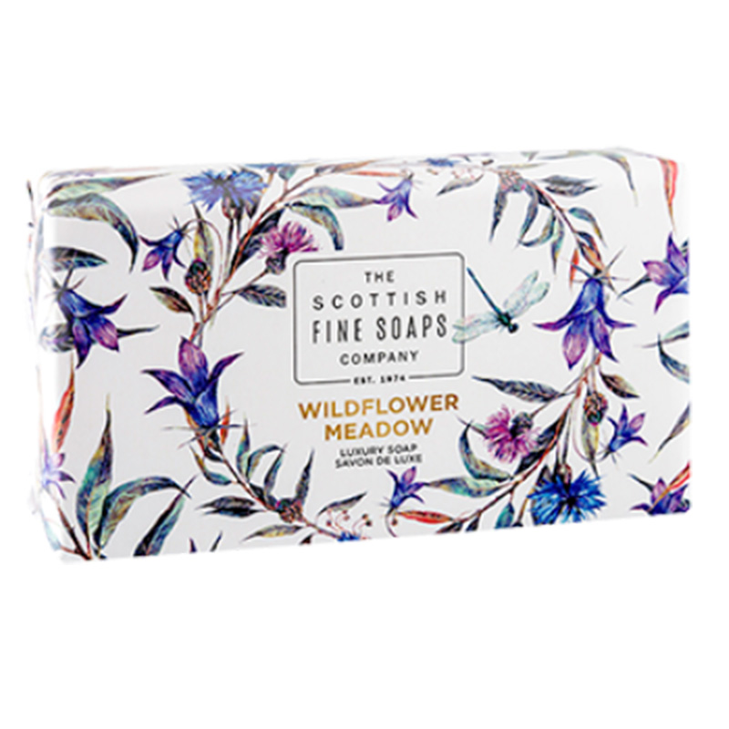 Picture of Scottish Fine Soaps 'Wildflower Meadow' Luxury Soap