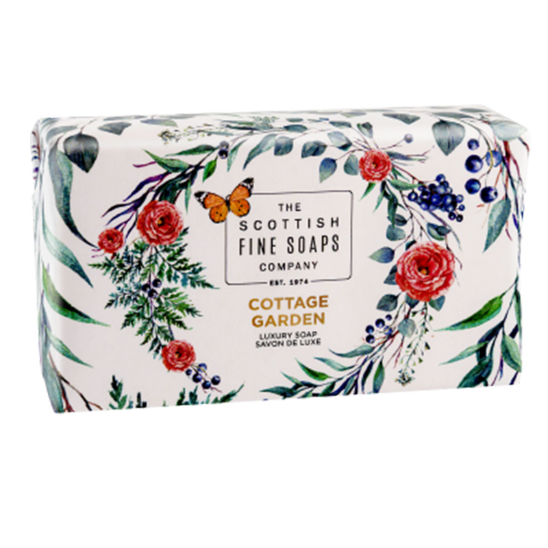 Picture of Scottish Fine Soaps 'Cottage Garden' Luxury Soap