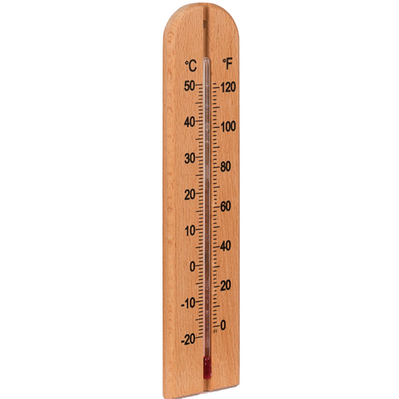 Picture of Wooden Thermometer