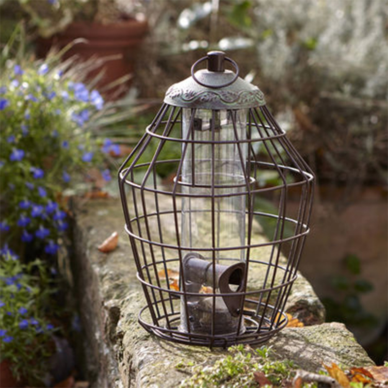 Picture of Secret Garden Squirrel Proof Bird Seed Feeder