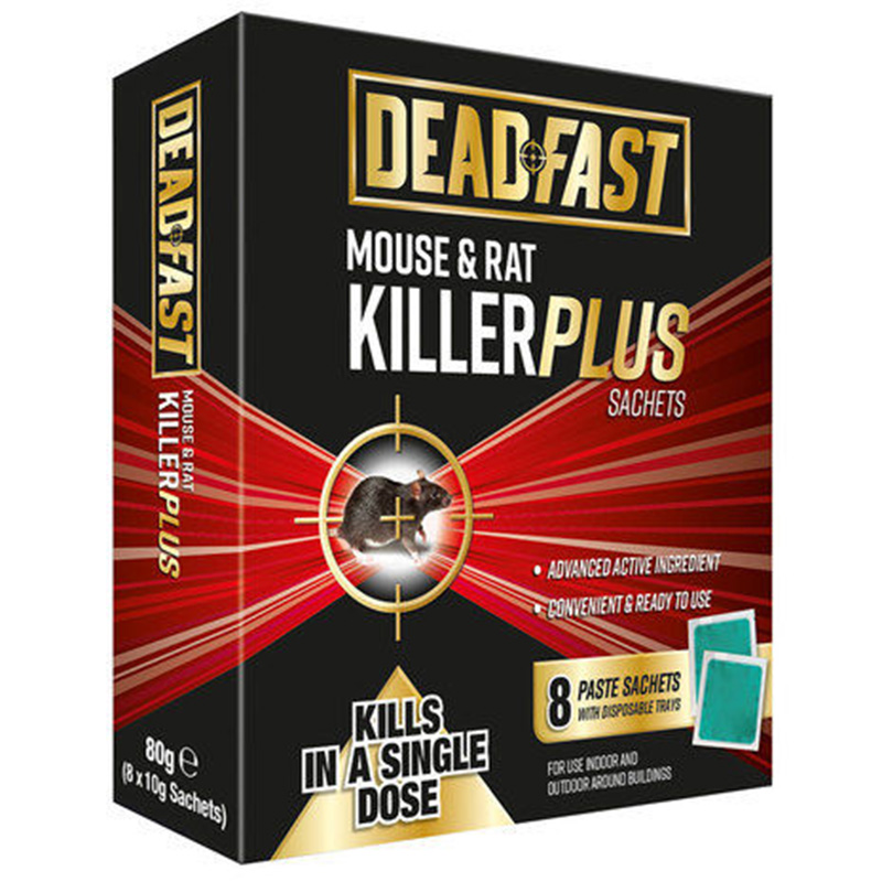 Picture of DEADFAST Mouse & Rat Killer Plus Sachets