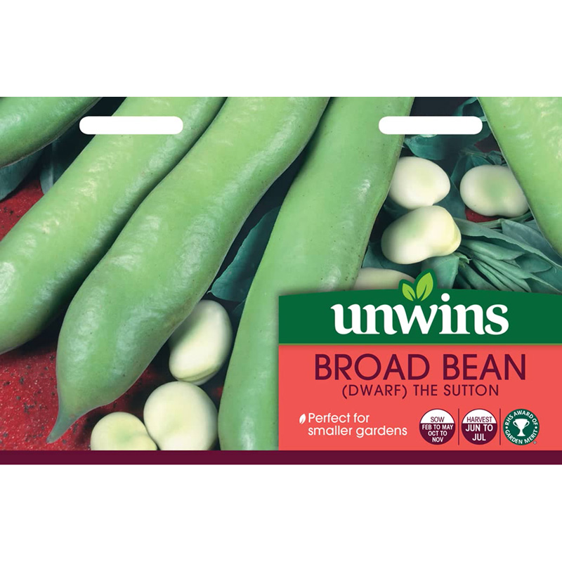 Picture of Unwins Broad Bean 'The Sutton'