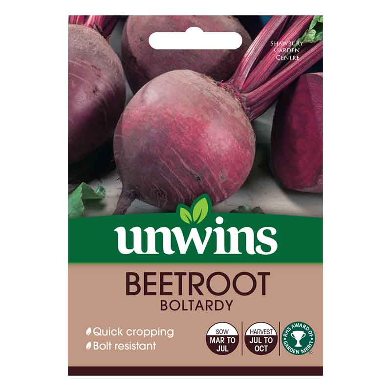 Picture of Unwins BEETROOT Boltardy Seeds
