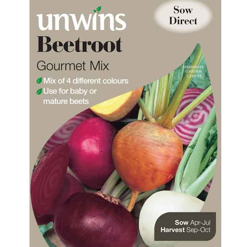 Picture of Unwins BEETROOT 'Gourmet mix' Seeds