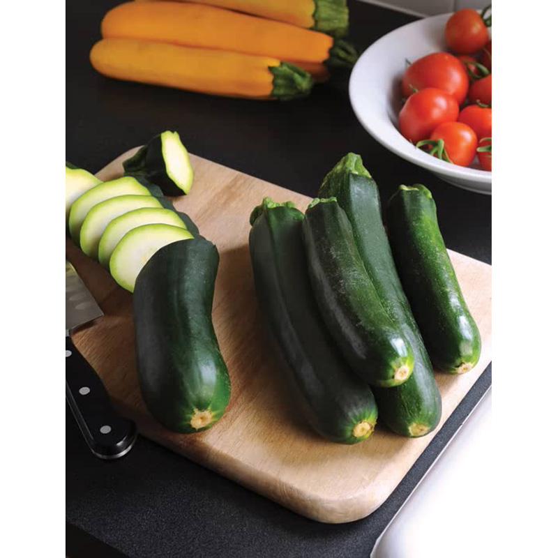 Picture of Unwins Easy pick green F1 courgette seeds