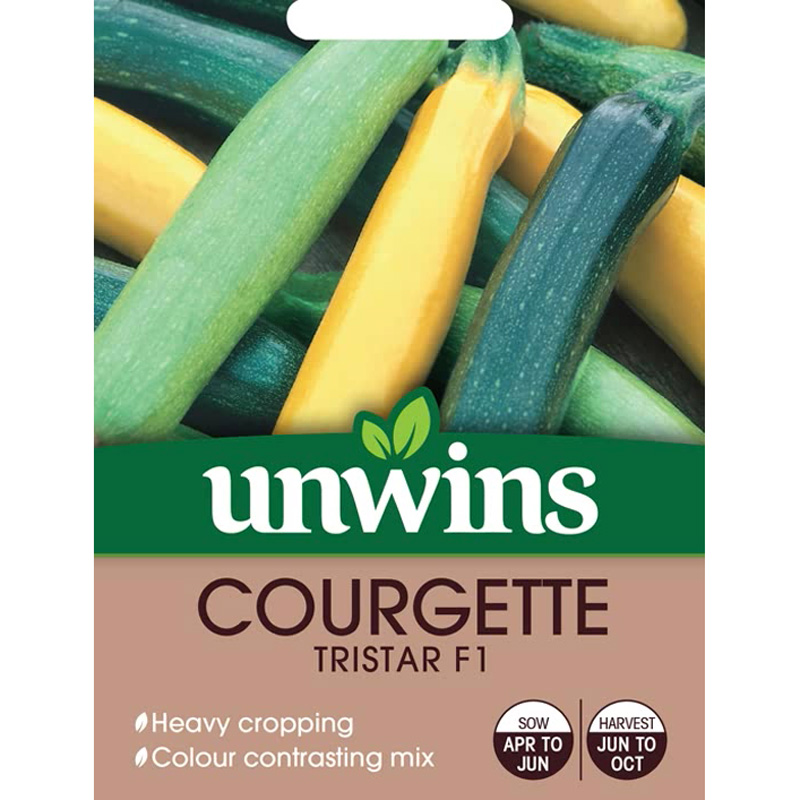 Picture of Unwins Tristar F1 Courgette Seeds