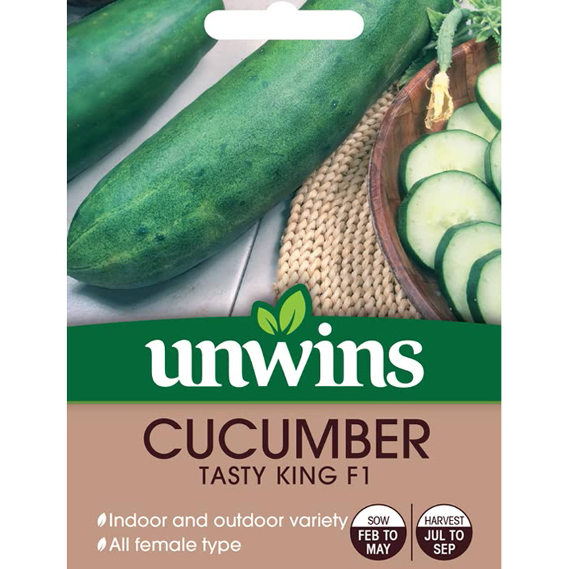 Picture of Unwins CUCUMBER Tasty King F1 Seeds