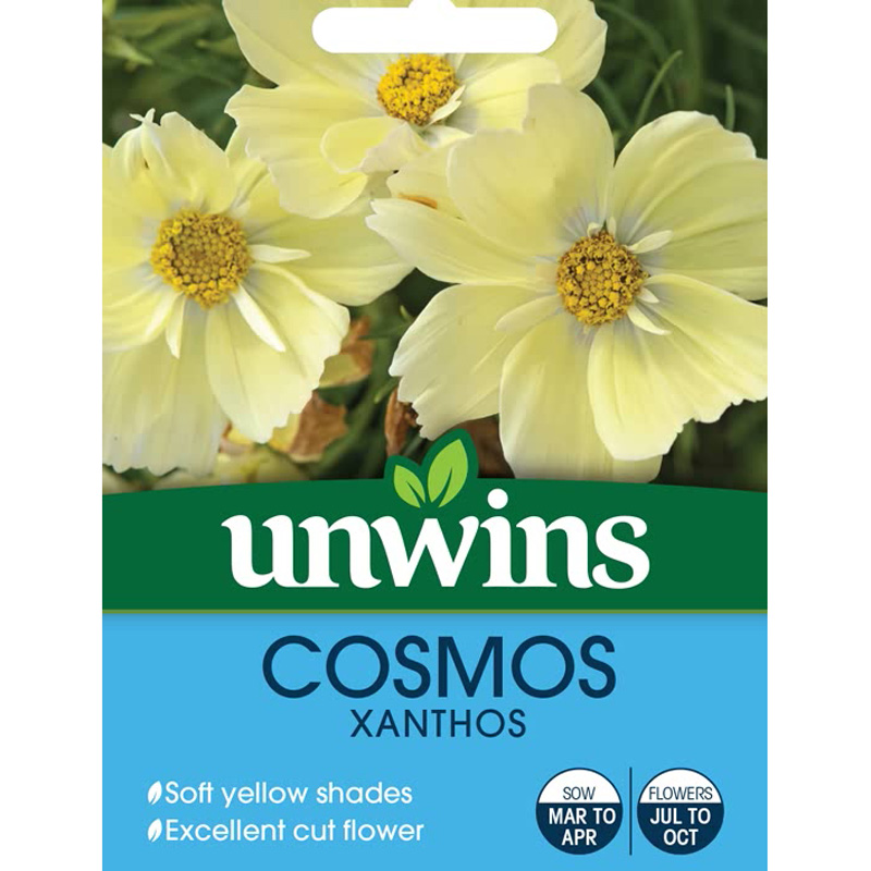 Picture of Unwins COSMOS 'Xanthos' Seeds