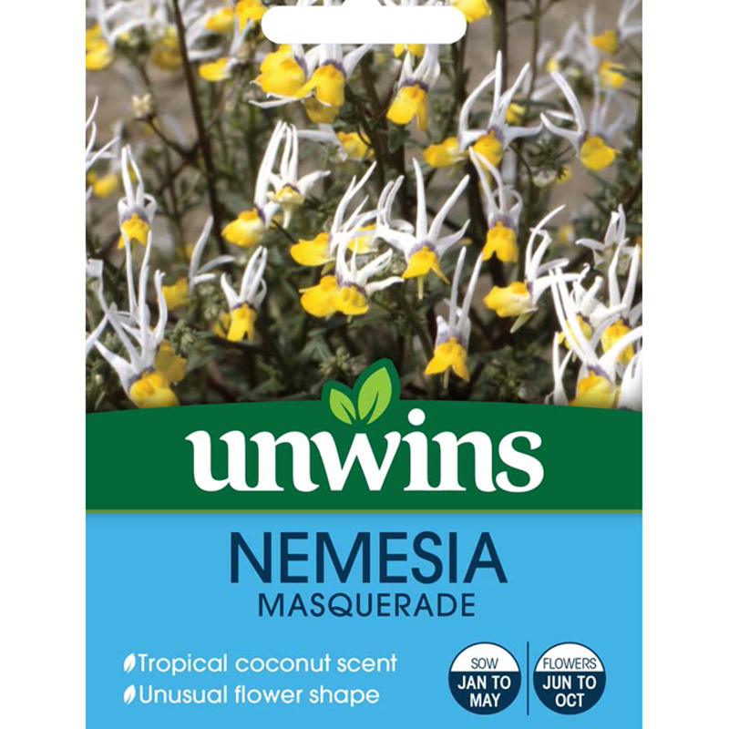 Picture of Unwins NEMESIA 'Masquerade' Seeds