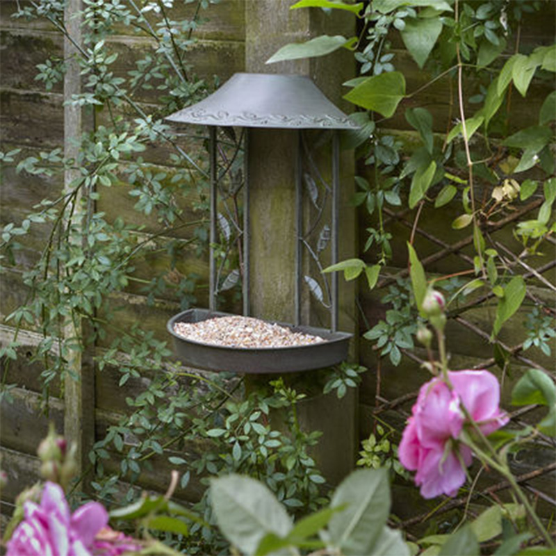 Picture of Peckish Secret Garden Wall Hanging Bird Table