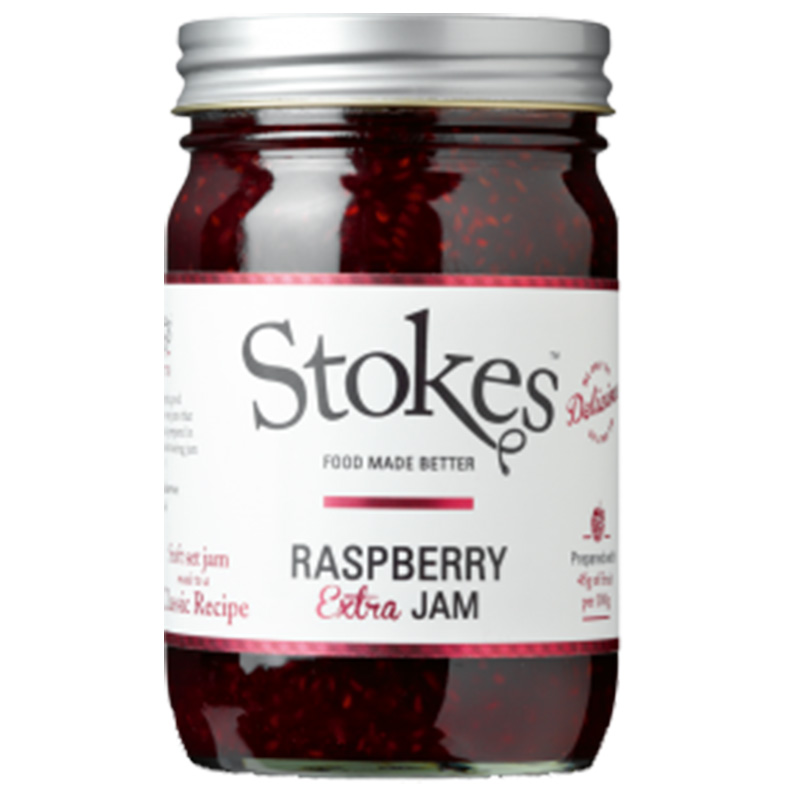 Picture of Stokes Raspberry Extra Jam