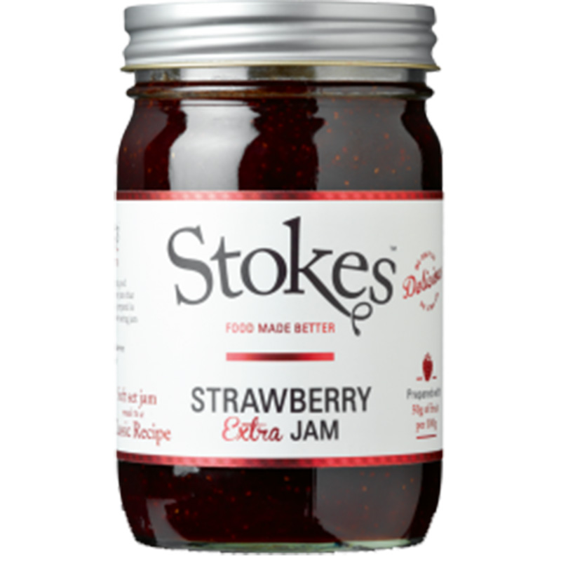Picture of Stokes Strawberry Extra Jam