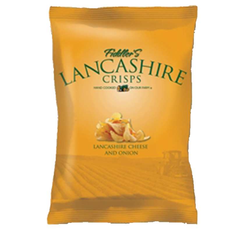Picture of Fiddler's Lancashire Crisps Cheese & Onion