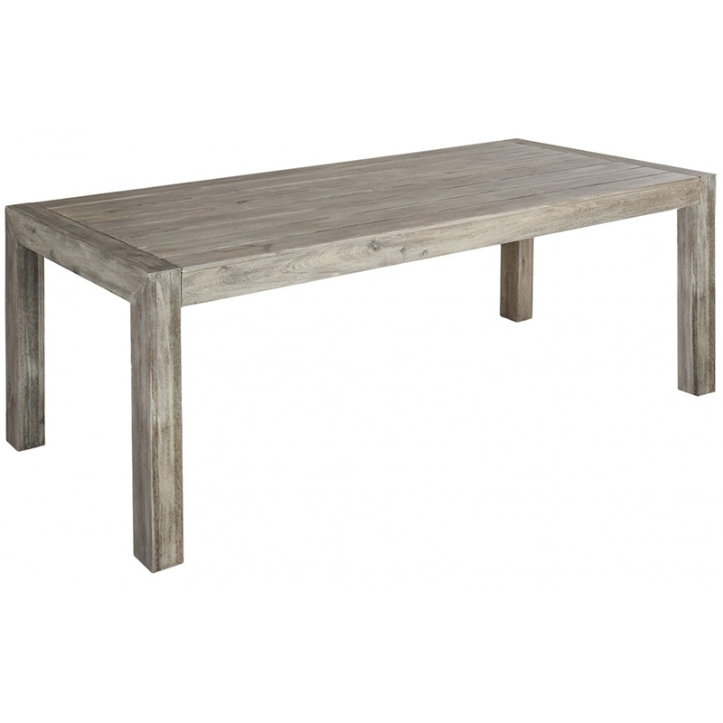 Picture of Alexander Rose Grey Painted RECTANGULAR TABLE