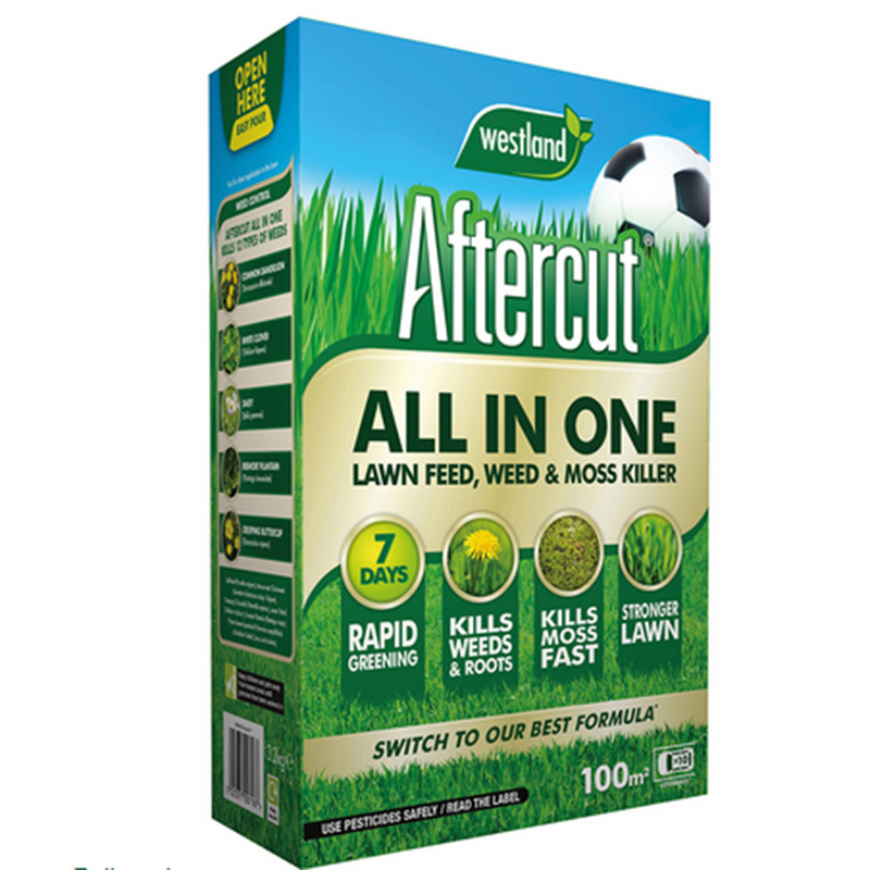 Picture of Westland Aftercut All-In-One Lawn Feed, Weed & Moss Killer