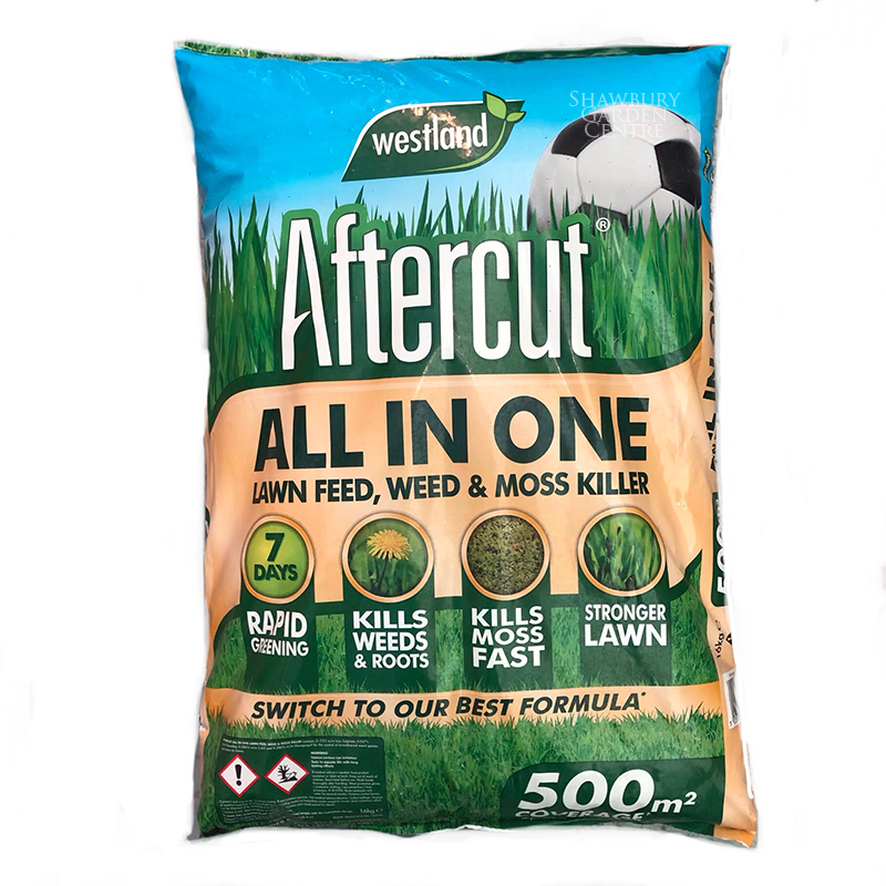 Picture of Aftercut All-In-One Lawn Feed, Weed & Moss Killer