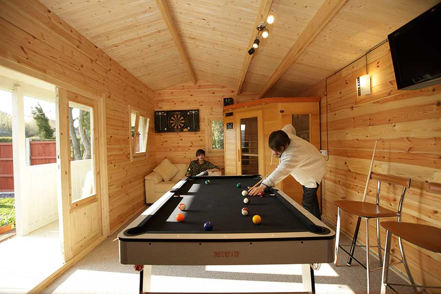 Picture of Forest Garden Harlech Log Cabin