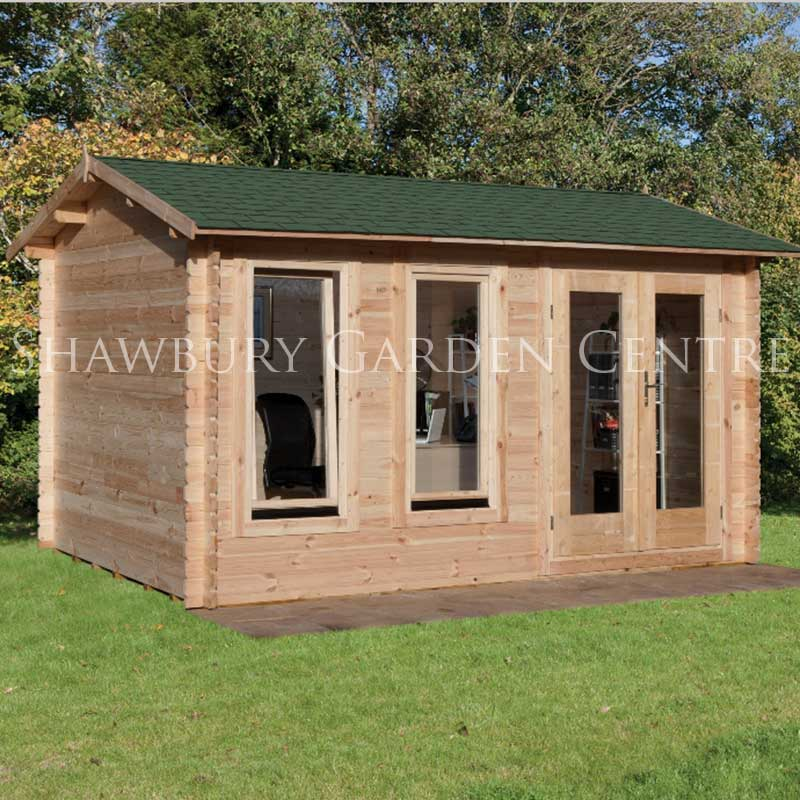 Picture of Forest Garden Chiltern Log Cabin (with Assembly)