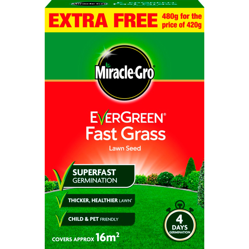 Picture of Miracle-Gro Evergreen Fast Grass Lawn Seed