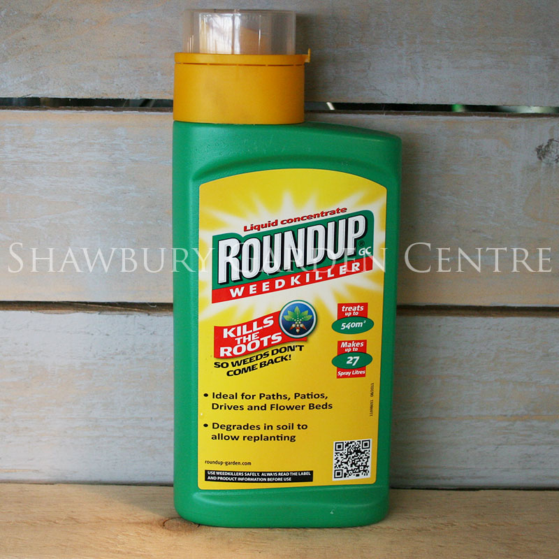 roundup weed killer concentrate instructions