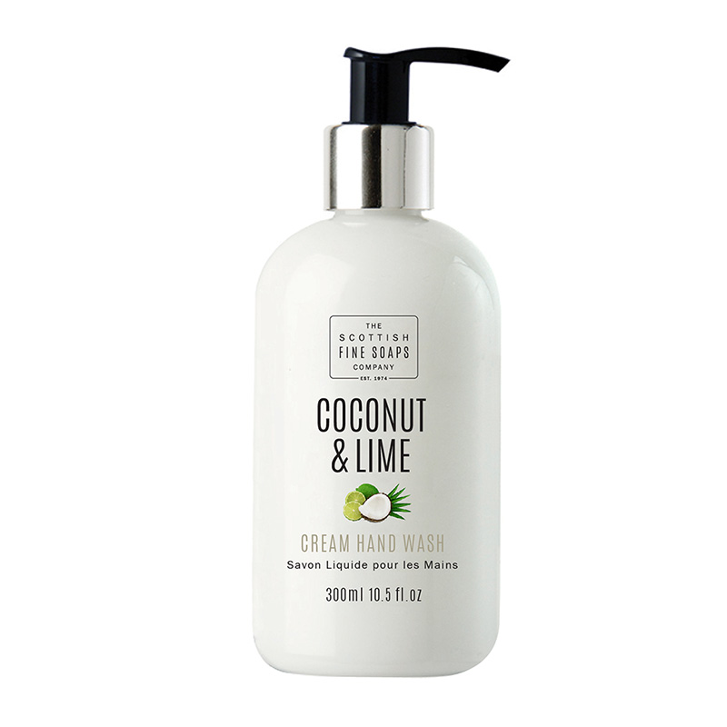 Picture of Scottish Fine Soaps Coconut & Lime Cream Hand Wash