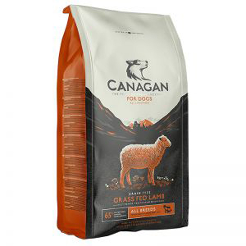 Picture of Canagan Grass-Fed Lamb Complete Grain-Free Dog Food