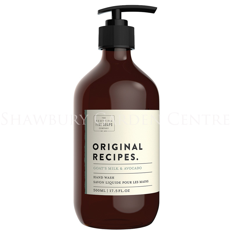 Picture of Scottish Fine Soaps Goats Milk & Avocado Hand Wash