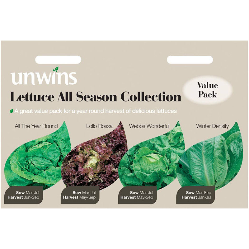 Picture of Unwins Lettuce All Season Collection