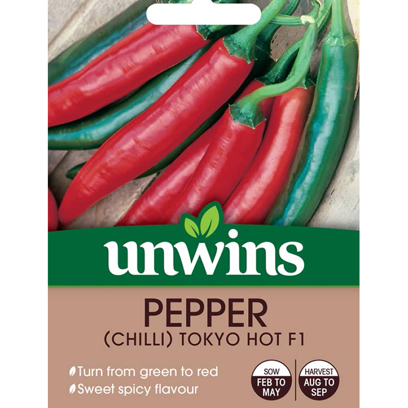 Picture of Unwins Tokyo Hot Chilli Pepper Seeds