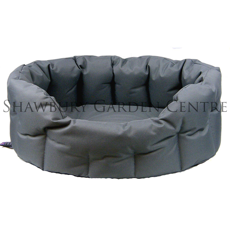 p l heavy duty oval waterproof dog bed. Black Bedroom Furniture Sets. Home Design Ideas