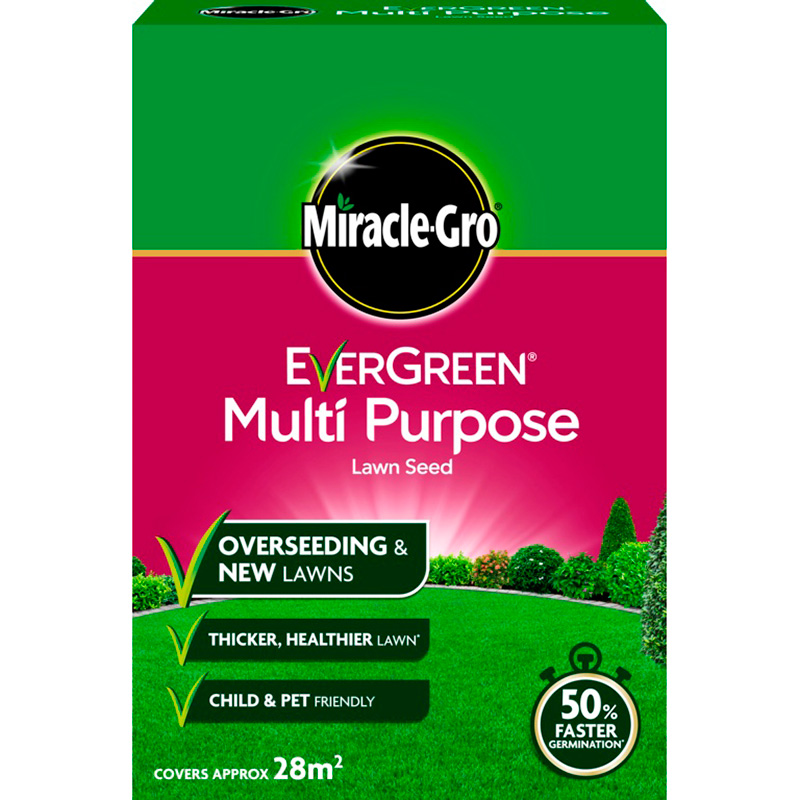 Picture of Miracle-Gro Evergreen Multi Purpose Lawn Seed