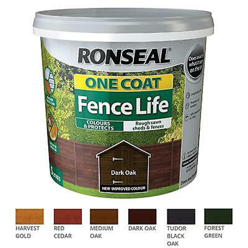 Picture of Ronseal One Coat Fence Life Paint