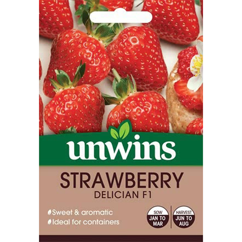 Picture of Unwins 'Delician' F1 Strawberry Seeds