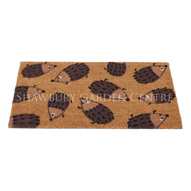 Picture of Gardman Dizzy Hedgehog Coir Door Mat