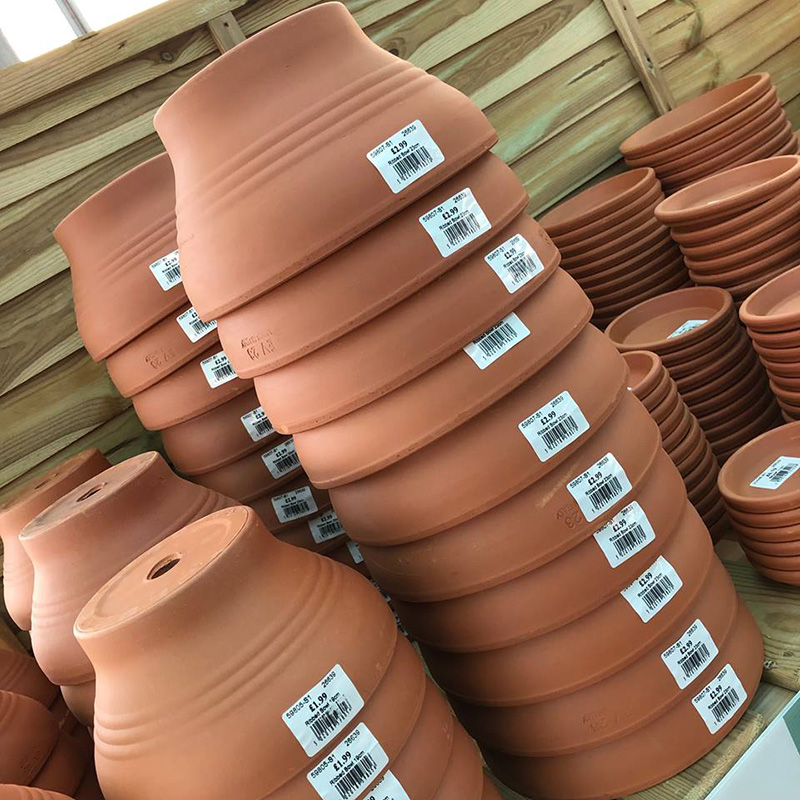 Picture of Terracotta Ribbed Bowls