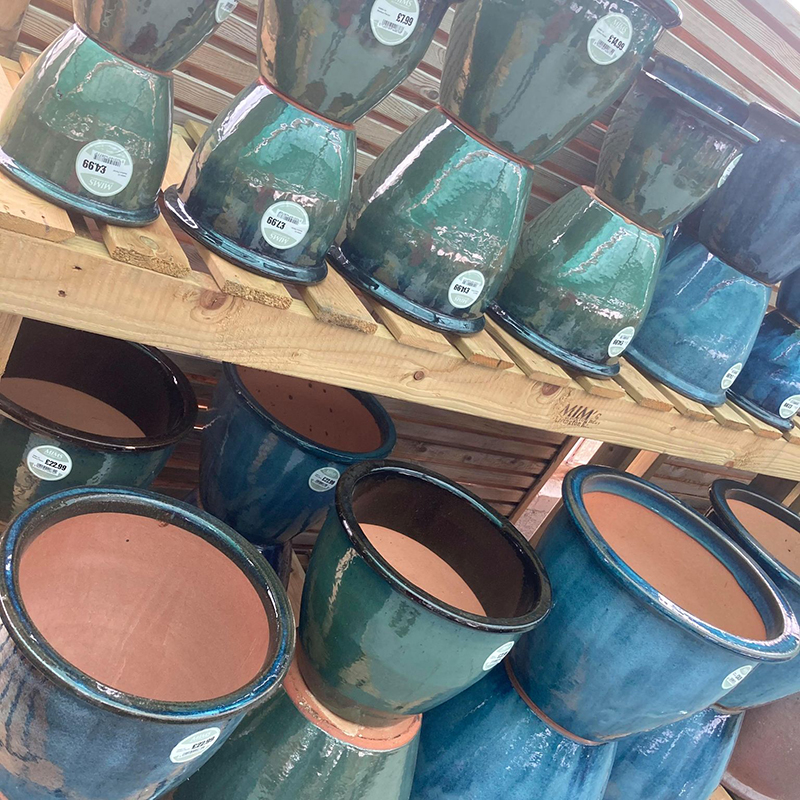 Picture of Madison Glazed Pots