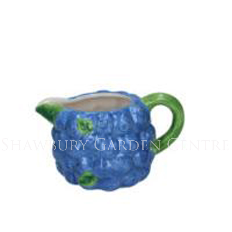 Picture of Gisela Graham Blueberry Ceramic Small Jug