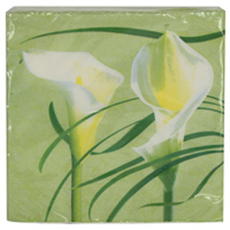Picture of Gisela Graham Calla Lily Paper Napkins