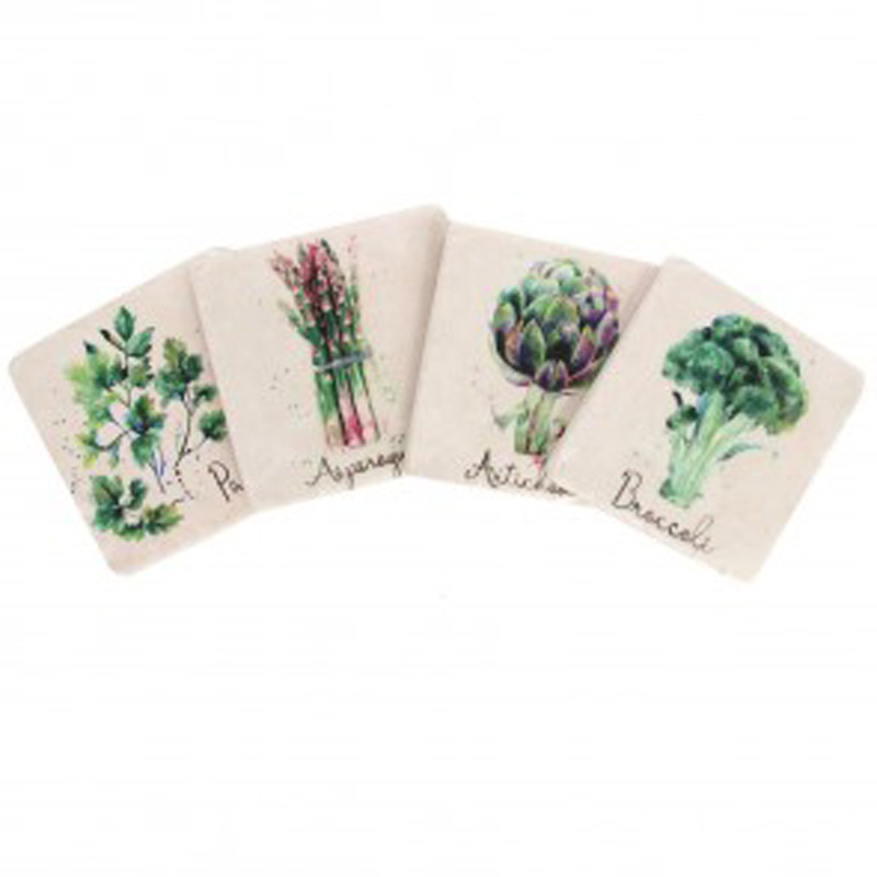 Picture of Gisela Graham 'Foody' Resin Coaster PK/4