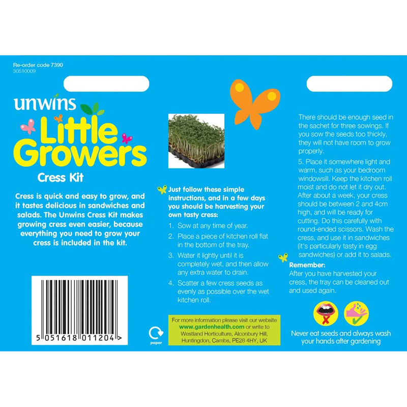 Picture of Unwins Little Growers 'Cress Kit'