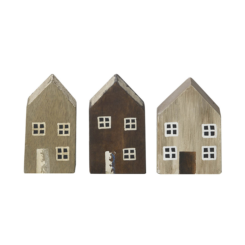 Picture of Parlane 'Perriss' Wooden House Ornament